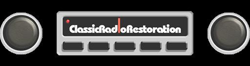 Classic Car Radio Restoration