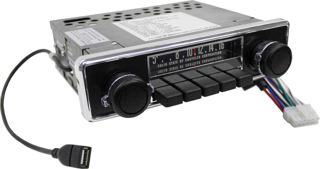 1967 – 71 Dodge D100 Truck Radio Conversion