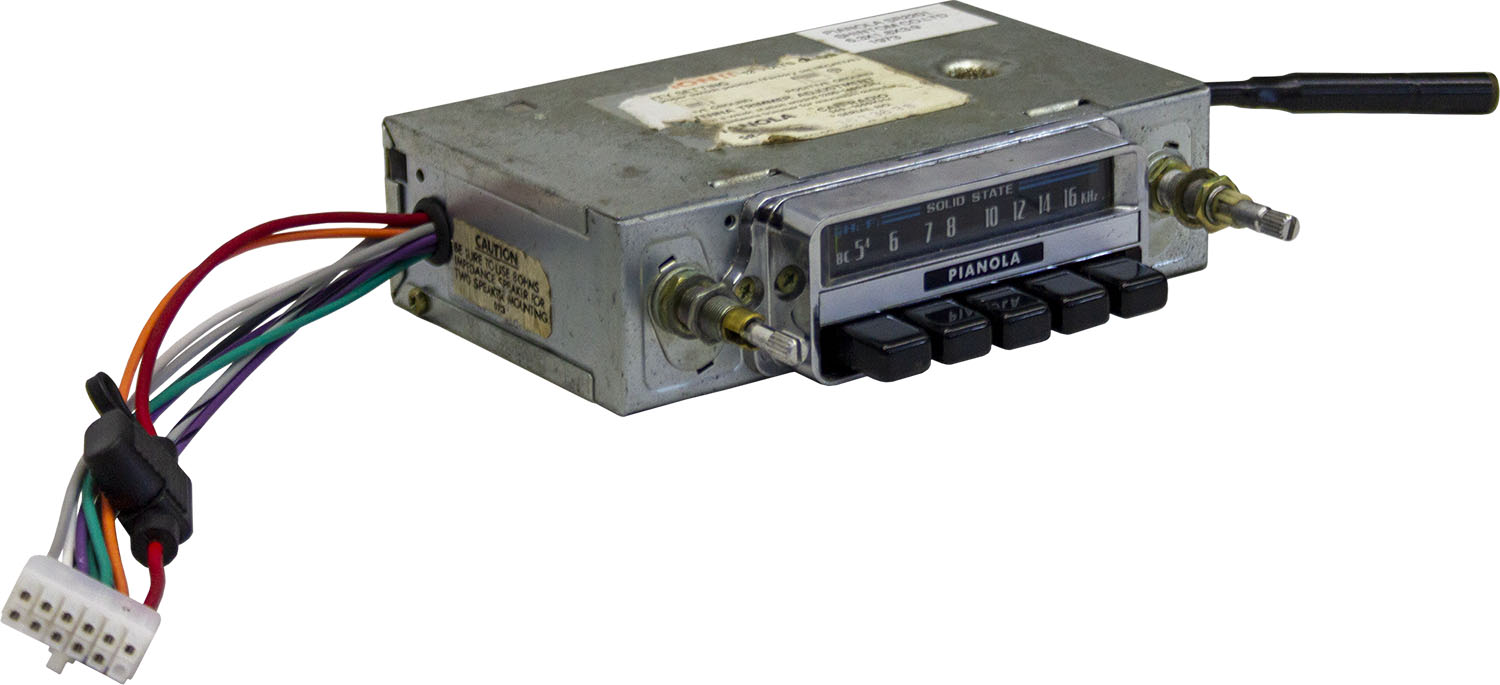 1970s MG (MG-B) Radio Conversion